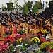 Friedhof von Ausserberg. Ein wirklich schöner Ort für die letzte Ruhe