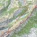 Route Hoher Kasten-Roslenfirst-Brülisau