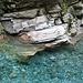 Le acque della Calancasca a Valbella
