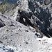 LF Westflanke, unten die bemoosten Felsen