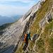 T6-Gelände beim Anstieg zum Vorgipfel