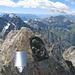 Auf dem Gipfel des Scherbadung / Pizzo Cervandone