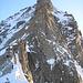 Der Grand Gendarme 4098m stellt sich den Alpinisten in den Weg
