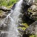 Wasserfall in der zweiten Schlucht
