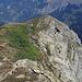 Oben auf den höchsten sichtbaren Punkt vom Gällihorn aus