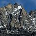 Der schroffe nördliche Bouquetins. Kaum zu glauben, aber auf der anderen Seite reicht der Glacier du Mont Miné bis fast auf den Gipfel.
