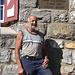 Der scheidende Hüttenwart Peter Beglinger an seinem letzten Arbeitstag auf der Claridenhütte