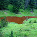roter See bei der Hochstanzer Alpe