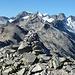 Immernoch auf dem W-Gipfel des Grossen Sidelhorn, nochmals ein Blick auf den Weiterweg Richtung Uelistock und Löffelhorn