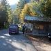 An der Mautstelle Einsiedeln, Radfahrer zahlen nichts auf der Forststraße zur Jachenau
