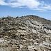 Der Gipfel des Mattwaldhorn 3246m ist steinreich