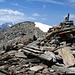 Auf dem Gipfel des Mattwaldhorn 3246m