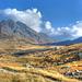 Der Piz Terri versteckt sich weiterhin in den Wolken. Blick Richtung Alpe di Motterascio