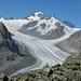 Und zum Abschied nochmal ein Blick auf den Aletschgletscher