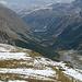 Das Val Roseg mit Pontresina im Hintergrund, unser Rückweg
