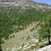 Die Alpe Giove - und darüber der Madom da Sgióf