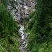 Wasserfall Val Vallorcha (Ende der Grüne Linie)