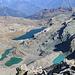 Dalla cima: il laghi del Parco Monte Avic