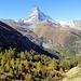 Das Matterhorn von der Riffelalp aus