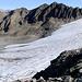 Il ghiacciaio Muttglatscher, sembra molto più piccolo dal basso, ma è lungo oltre 1km
