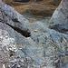 Bilck in den Ausstieg vom Klettersteig