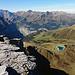 Blick auf den Ausgangsort, kleine Scheidegg