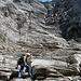 2003: Aufstieg nach dem Stollenloch Rotstock, einstieg in die Schlucht