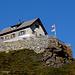 Hotel Belvedère oberhalb der Alp Grüm