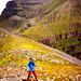 Der Gipfelkamm des Liathach