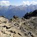 Weg zurück zur Bergstation