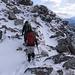 Sulla cresta del Pizzo Cadreigh verso la capanna.