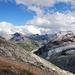 Das Stellihorn mit Stausee Mattmark. Der frisch gefallene Schnee vom Montag ist seit langem wieder geschmolzen.