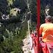 Sicht nach Handegg runter