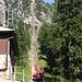 Gelmerbahn: mit 106% Steigung die steilste Standseilbahn Europas