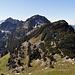 der schönste Abschnitt vom heutigen Tag, der Weg vom Windenpass zur Gmeinenwis, erst ging es aber noch auf den Lütispitz