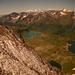 """Neuschnee, die """"Fischseen"""" und der Monte Rosa"""