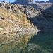 Lago Mognola e Pizzo Canaa.