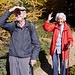hier kehrten Werner (99) und Kläri (94) um. Nicht der Aufstieg...der Abstieg machte ihnen Angst.
