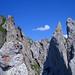 Zerklüftet, wild, unübersichtlich – Blick vom Scherenturm auf Scherenspitzen und Gams-Chopf