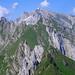 Rückblick vom Schafwisspitz auf einige der wildesten Alpstein-Gipfel und den Säntis