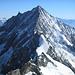 Das Weisshorn 4505m, fotografiert vom [http://www.hikr.org/tour/post3774.html Zinalrothorn 4221m]