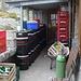Impressionnant stock de bière à la Mindelheimerhütte.