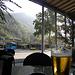 Chiavenna mit Postauto und Birra