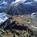 Auf dem Südgrat des Vorderen Brochkogel. Herrlicher Blick auf den Ötztaler Hauptkamm