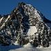 Die Großglockner Südwand ist ca. 600 m hoch.