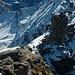 Nach dem Gipfelerfolg auf dem Stotzigberggrat - Chänglischberg (2645m) galt es wieder sicher über den brüchigen Südgrat in die Scharte beim Gendarm abzusteigen.