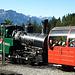 Tschuff-Tschuff-Tschuff die Eisenbahn - gut gepflegte Dampflok der Brienzer Rothornbahn.