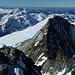 Panorama über der Glocknerwand. Von den Ortlerbergen bis zu den Leoganger Steinbergen.