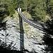 Ponte della Traversina dal basso