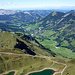 Nicht mehr weit nördlich hinter Sörenberg sind die Alpen wohl zu Ende.